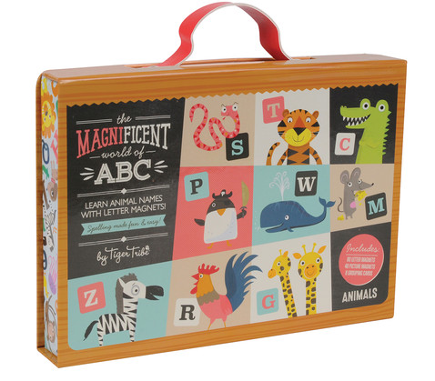 Magnificent ABC - Animals - packaging -