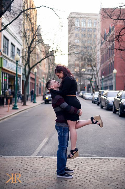 WV Engagement Photography