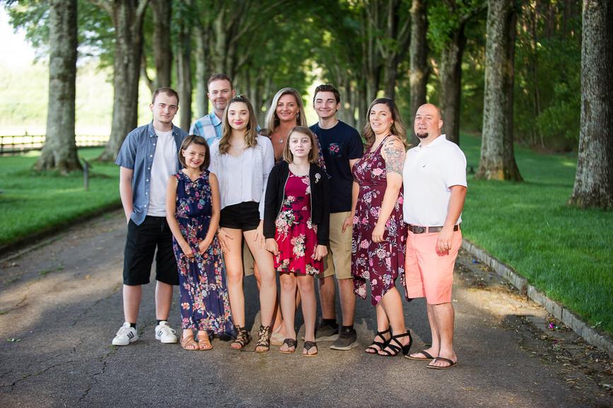 Rome, GA Cartersville, Rockmart Cedartown family portrait photographer