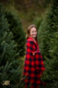 Christmas Tree Mini Session Rome GA