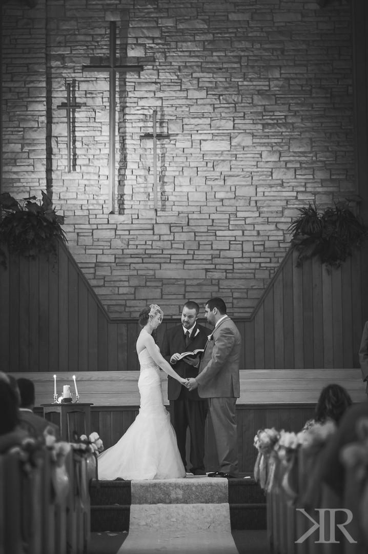 Dark Church Wedding Editing Services