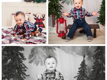 Ryker's Christmas Portraits
