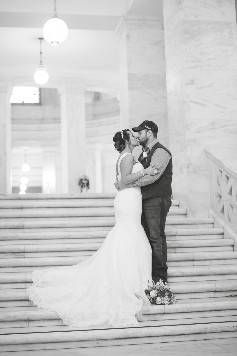 WV State Capitol Wedding Charleston, WV Kayla Ryan Photography