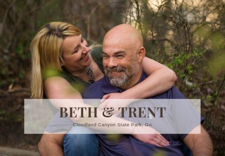 Beth & Trent | Cloudland Canyon State Park, GA