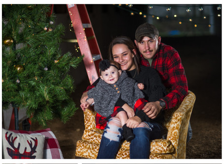 Pridemore Family Christmas Photos