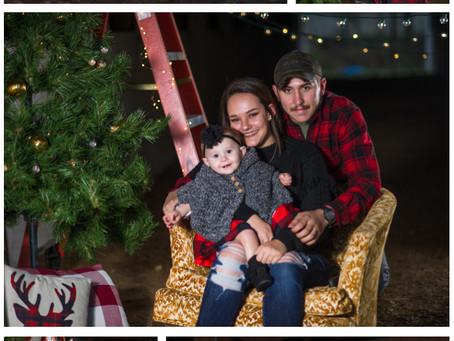 Pridemore Family Christmas Photos