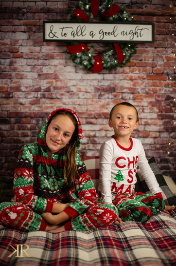2020 Christmas PJ's Pictures