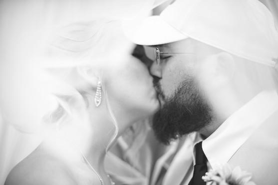 Bride and Groom Portrait. North Georgia Wedding Photographer