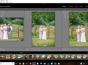 Culling Editing Services for Wedding Pho