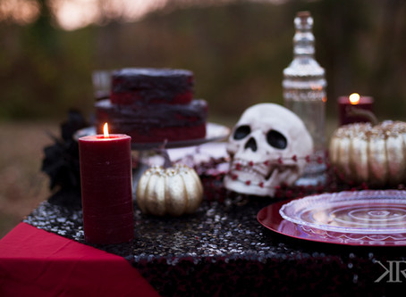 Halloween Inspired Shoot | Kayla Ryan Photography