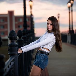 Model High School Senior