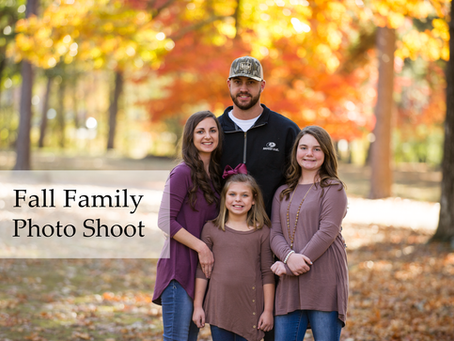 Fall Family Photos at Berry College