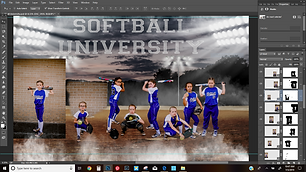 Sports Composite Editing Services Kayla