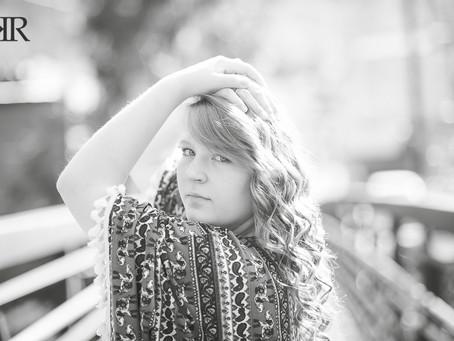Van WV Senior Portraits | Kayla Ryan Photography