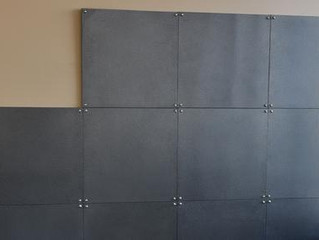 AR 500 Steel Ballistic Wall Tiles