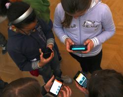 Kids interacting