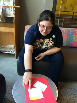 User Tests with the paper prototype