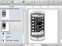 Prototype in OmniGraffle Pro