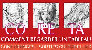 coreta, comment regarder un tableau, association, françoise barbe gall, conférences, peinture, art