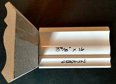 Primed MDF Crown molding