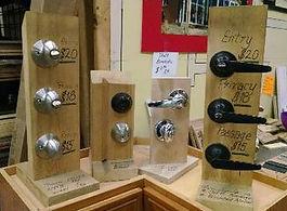 Door Knobs, Lever knobs