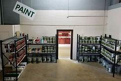 Green Sheen paint