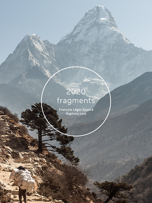 Calendrier Fragments 2020