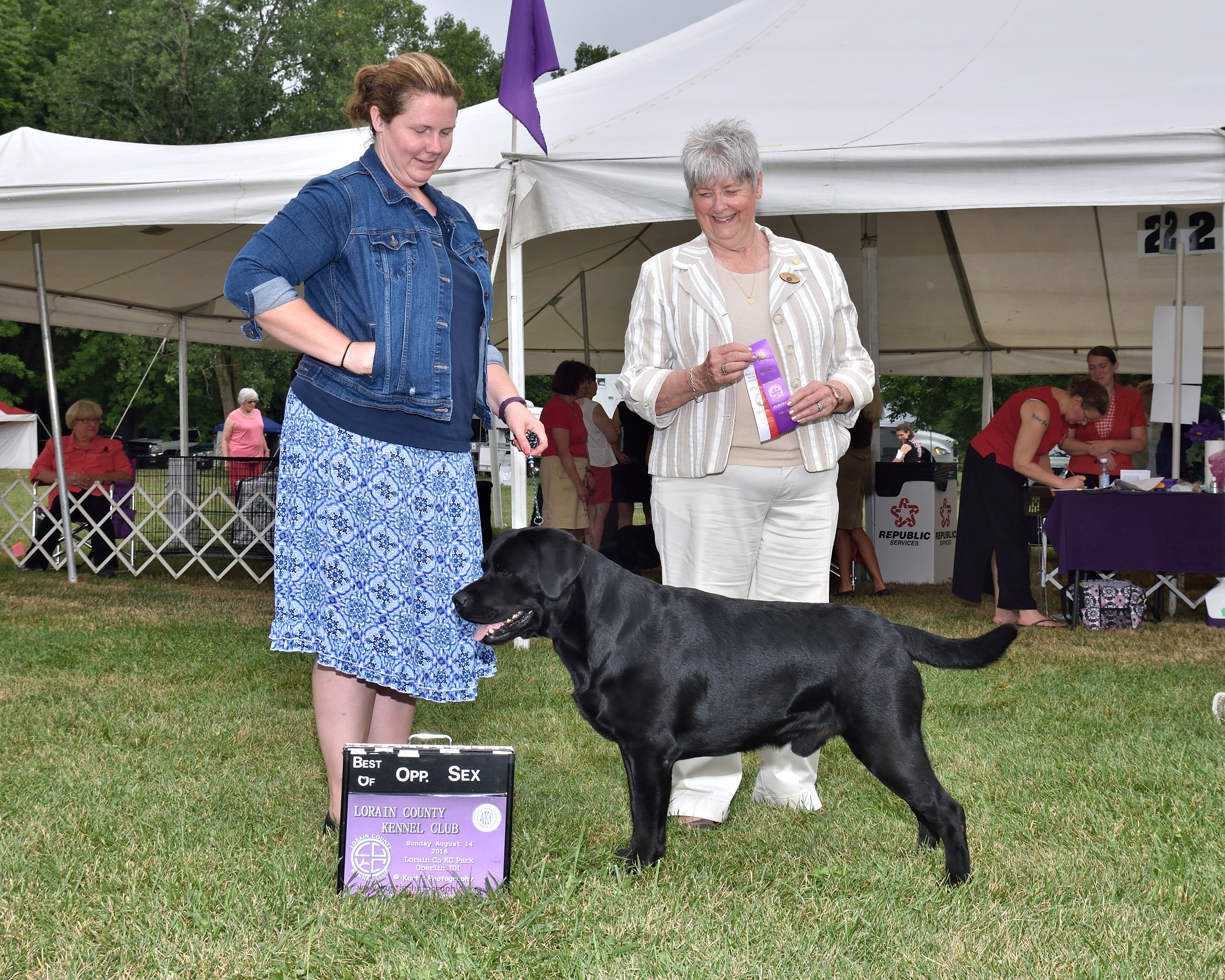 Lorain Kennel Club BOS