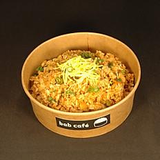 Kimchi Bokkum-bab