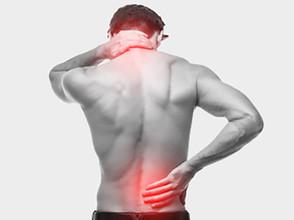 Nacken-und Rückenschmerzen