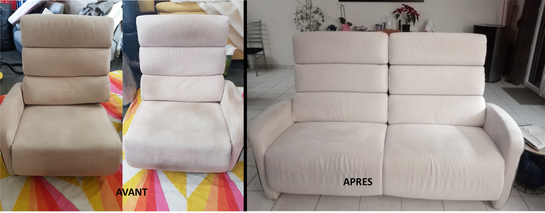 Nettoyage canapé micro fibre