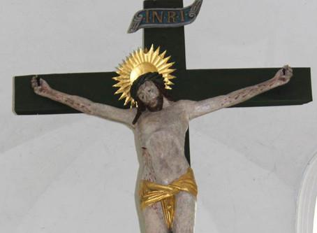 Restaurierung des spätmittelalterlichen Triumphkreuzes aus der Dorfkirche in Kollmar