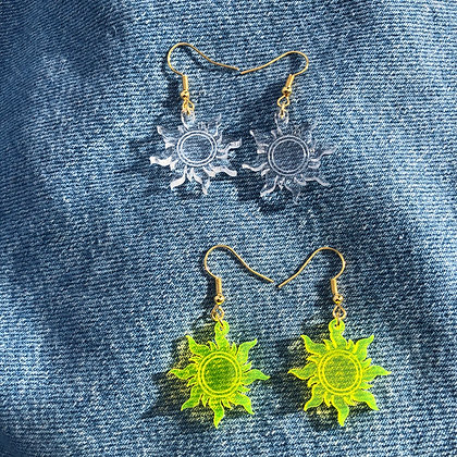 Here Comes The Sun-shine Earrings