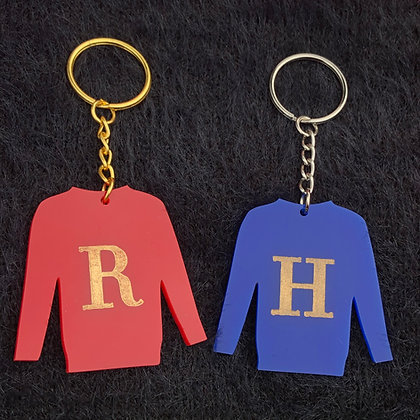 Harry and Ron Jumper Keyrings