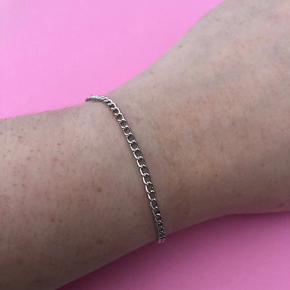 Dainty Platinum Bracelet