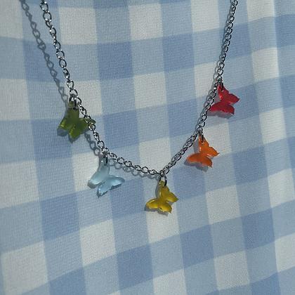 Rainbow Butterfly Chain