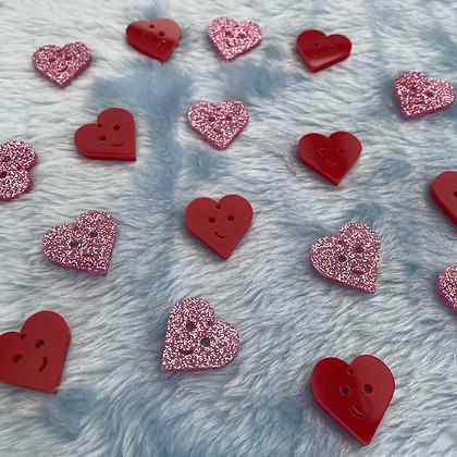Shy Heart Earrings