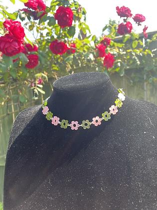 Frosted Garden Fairy Daisy Chain