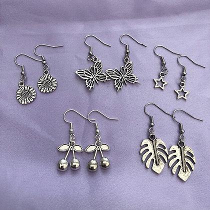 Mystery Silver Earring Bundle