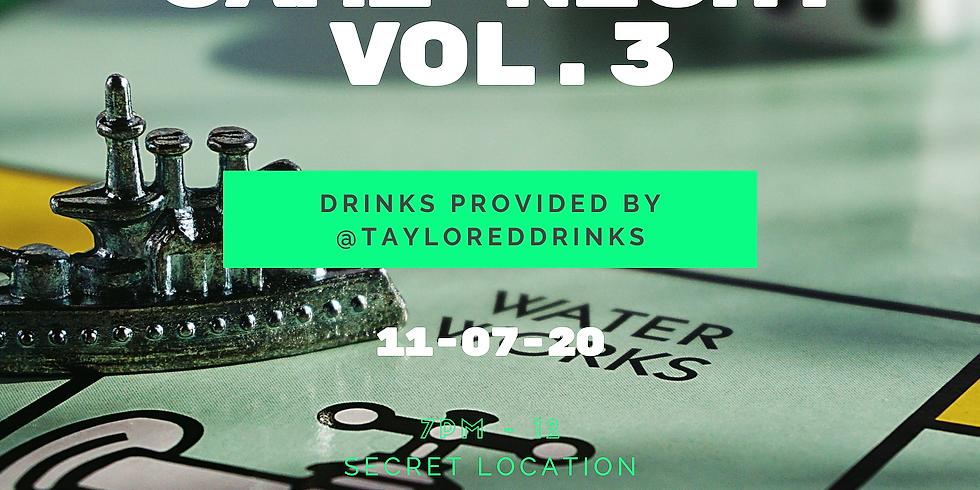 Taylored Drinks x LoungIn' Cake Game Night