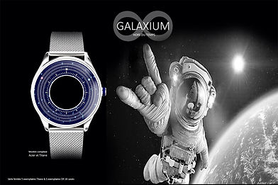 MONTRE GALAXIUM BY STEPHANE MATHIEU DESI