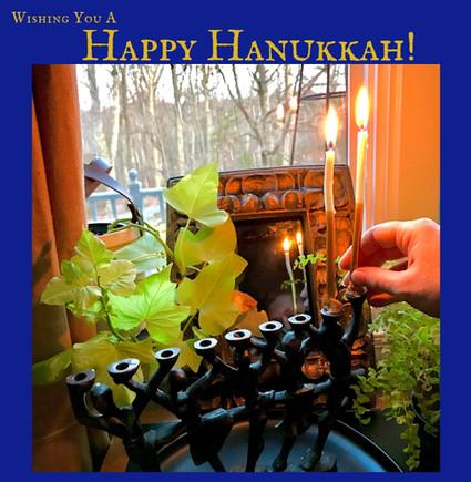 The Hanukkah Blessings