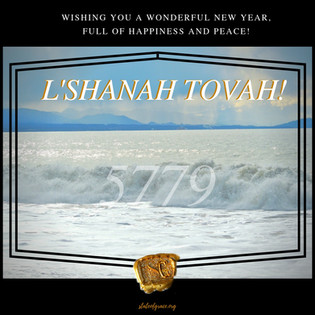 And The Jewish New Year Rolls In . . .