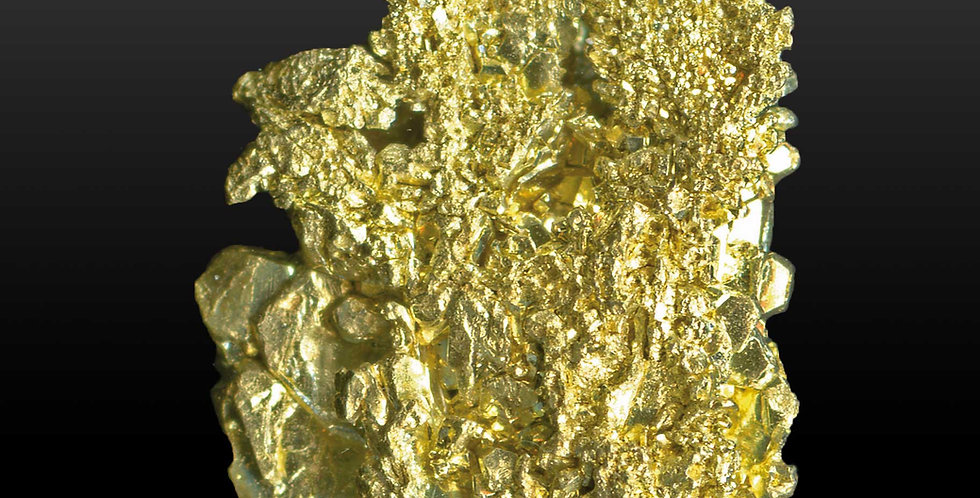 Gold, Kristallnugget – Mount Kare, Hagensberg, Enga, Papua-Neuguinea