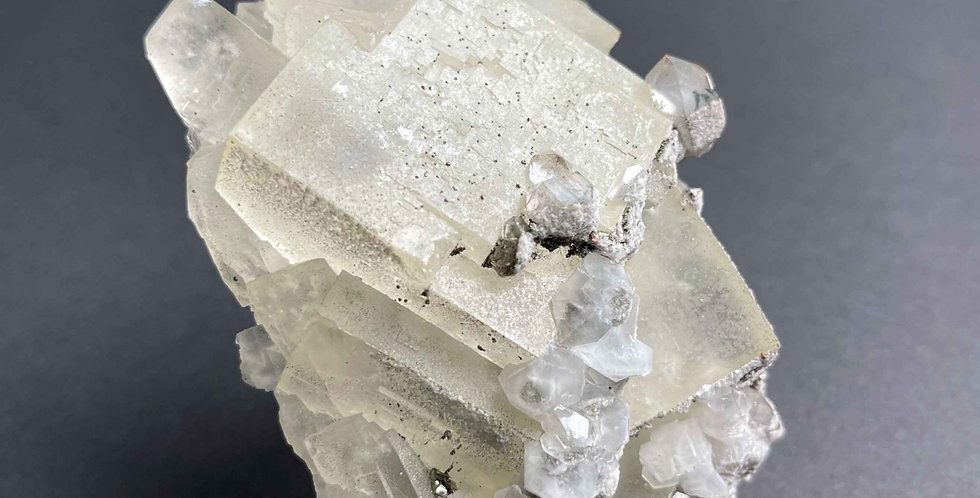 Fluorit, Quarz – El Hammam, Marokko