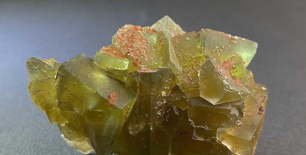 Fluorit, Quarz – Lauta, Deutschland