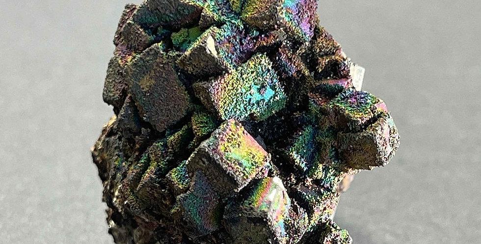 Pyrit mit Limonit – Ferromin, Rio Marina, Elba, Italien