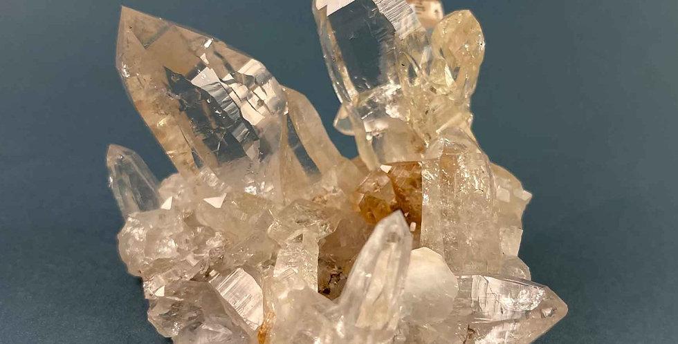 Bergkristallstufe mit Adular - Rauris, Österreich