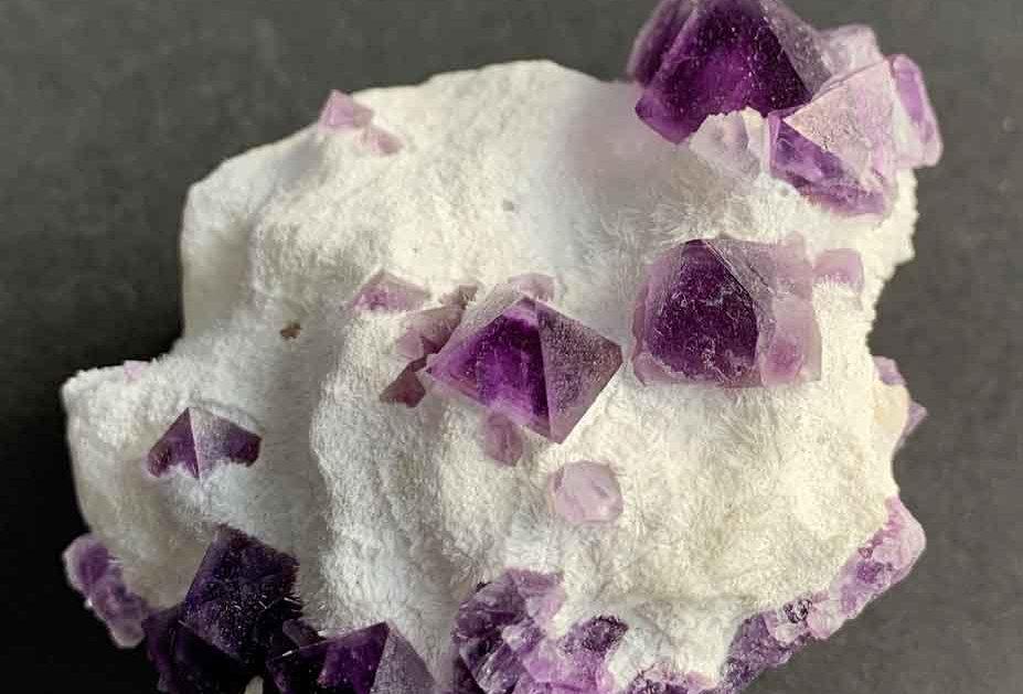 Fluorit – De'an Fluorit Mine, Prov. Jiangxi, China
