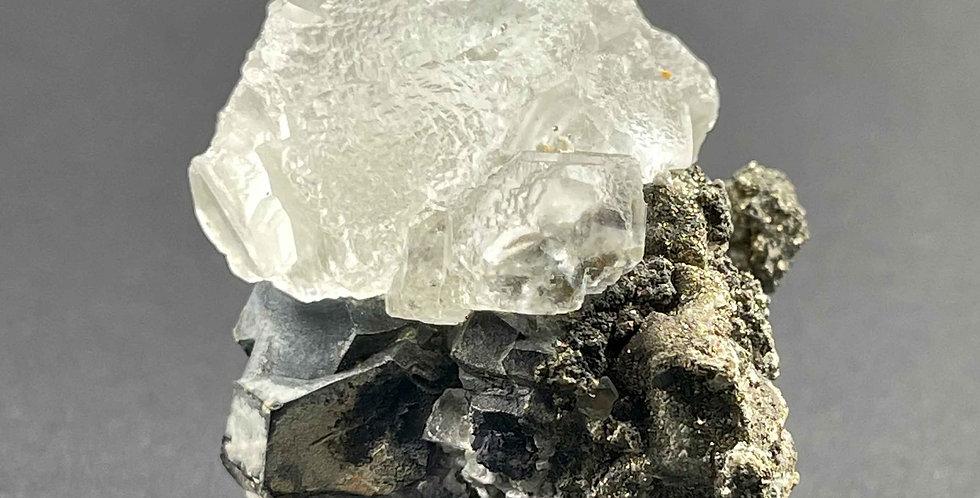 Fluorit, Pyrit, Bleiglanz – Naica, Mexico